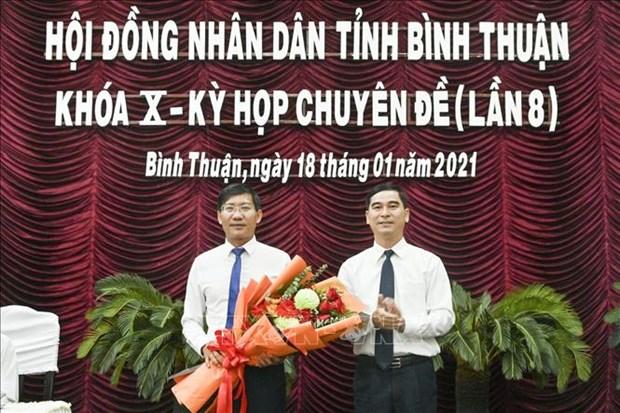Ong Le Tuan Phong duoc bau giu chuc vu Chu tich tinh Binh Thuan hinh anh 1