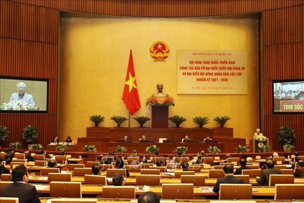 Tong Bi thu, Chu tich nuoc Nguyen Phu Trong: Bau cu dai bieu Quoc hoi va HDND cac cap nhiem ky 2021-2026 - dot sinh hoat dan chu sau rong trong nhan dan hinh anh 1
