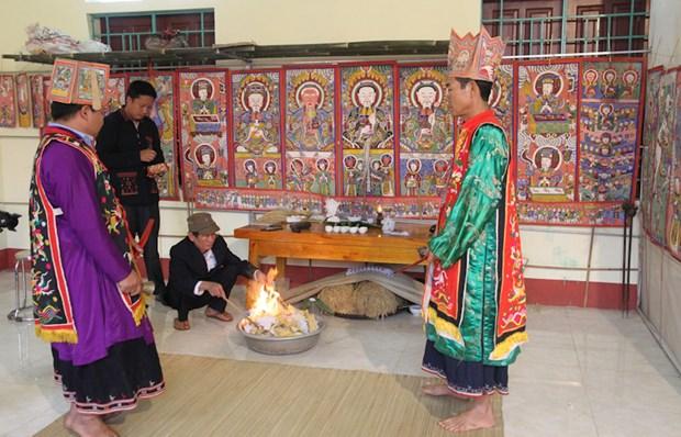 Le hoi Ban Vuong - Nghi le dam tinh nhan van cua dong bao Dao, Phu Tho hinh anh 1
