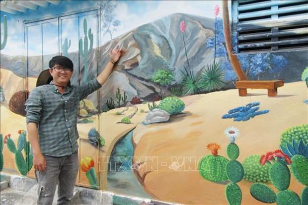 Du lich Viet Nam: Kham pha ve dep cua Lang bich hoa Hon Thien – Ninh Thuan hinh anh 1