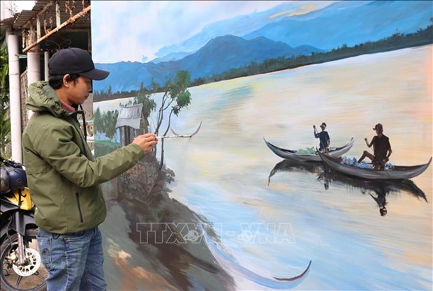 Du lich Viet Nam: Kham pha ve dep cua Lang bich hoa Hon Thien – Ninh Thuan hinh anh 3