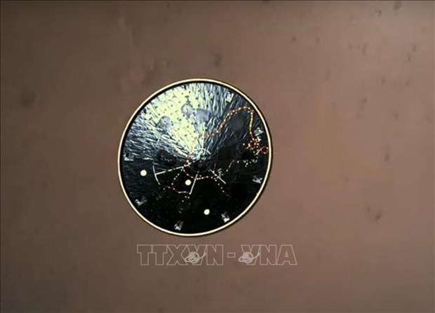 NASA cong bo doan ghi am va video dau tien gui ve tu Sao Hoa hinh anh 2