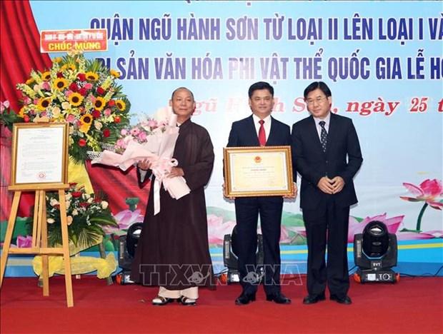 Bao ton, phat huy gia tri Di san Van hoa phi vat the quoc gia Le hoi Quan The Am – Ngu Hanh Son hinh anh 1