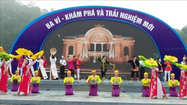 Le hoi Du lich Ba Vi nam 2021: Kham pha va trai nghiem moi hinh anh 1