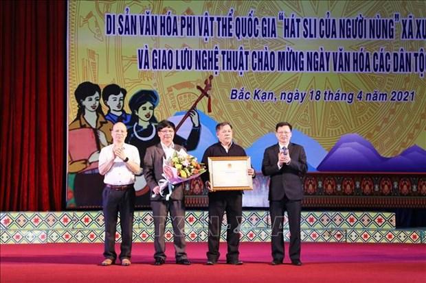 """Bao ton di san van hoa phi vat the quoc gia """"Hat Sli cua nguoi Nung"""" hinh anh 3"""