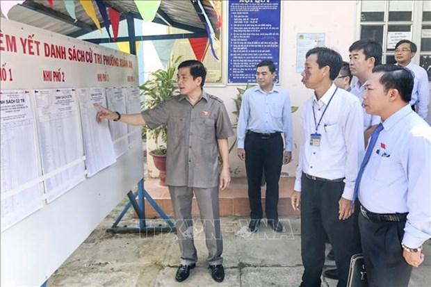Chanh Van phong Hoi dong Bau cu quoc gia Bui Van Cuong: Da chuan bi san sang cho Ngay Bau cu 23/5/2021 hinh anh 1