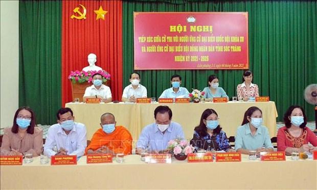 Soc Trang day manh tuyen truyen ve bau cu o vung dong bao dan toc thieu so hinh anh 2