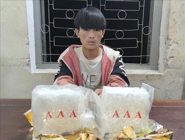 Bat doi tuong Sung A Hu thu 2 kg ma tuy da hinh anh 1