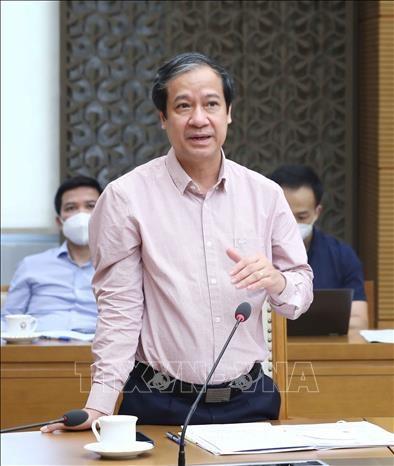 Pho Thu tuong Vu Duc Dam: Bao dam day va hoc thuan loi, hieu qua trong boi canh dich COVID-19 hinh anh 2