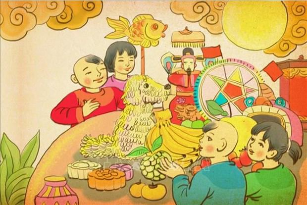 """Ha Noi: Trung bay truc tuyen """"Trung thu sum vay"""" tai Hoang thanh Thang Long hinh anh 2"""
