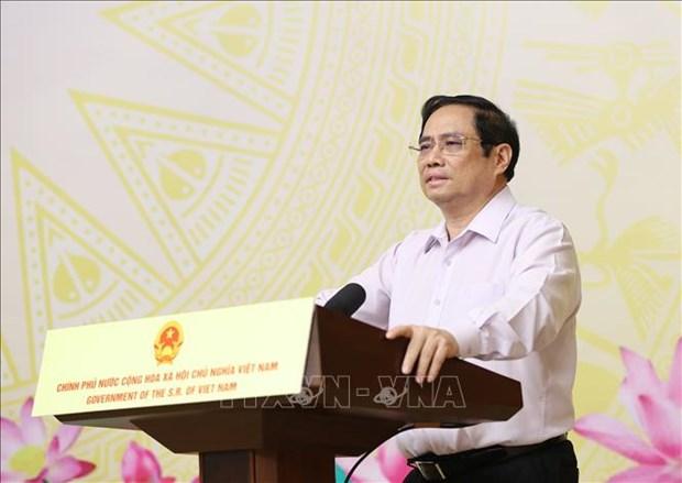 """Toan van bai phat bieu cua Thu tuong Chinh phu Pham Minh Chinh tai le phat dong chuong trinh """"song va may tinh cho em"""" hinh anh 1"""