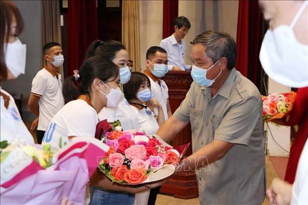 Huong ung loi keu goi cua Tong Bi thu Nguyen Phu Trong: Lai Chau ho tro Binh Duong chong dich COVID-19 hinh anh 2