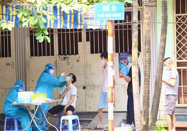 Sang 14/9, Ha Noi ghi nhan 3 ca duong tinh voi SARS-CoV-2 deu da duoc cach ly hinh anh 1