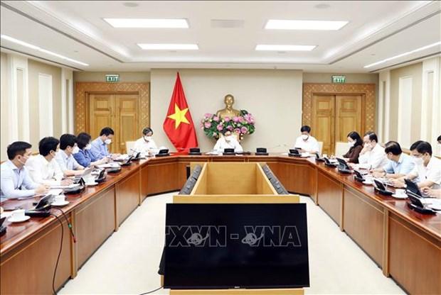 Pho Thu tuong Vu Duc Dam: Bao dam an toan khi hoc sinh quay tro lai truong hoc hinh anh 1