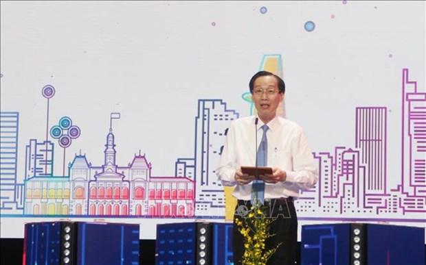 Khai mac Ngay hoi du lich Thanh pho Ho Chi Minh lan thu 16 - nam 2020 hinh anh 1
