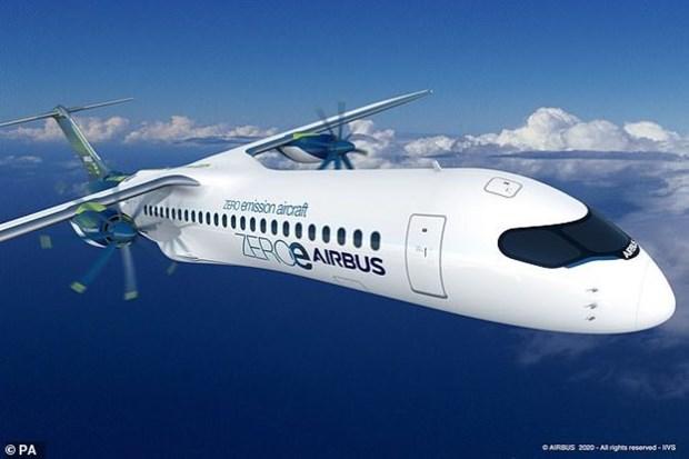 ករមហន Airbus បងហាញគរយនតហោះអនាគត ៣ មតមនបញចេញផសែងបពលបរសថាន hinh anh 1