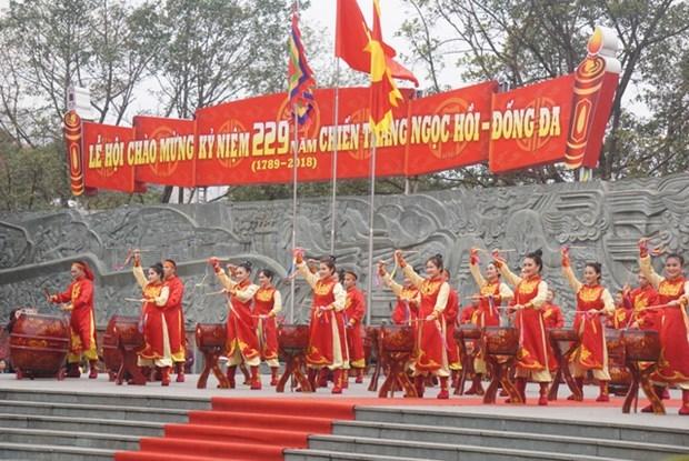 念玉回—栋多大捷229周年文艺晚会在胡志明市举行 hinh anh 1