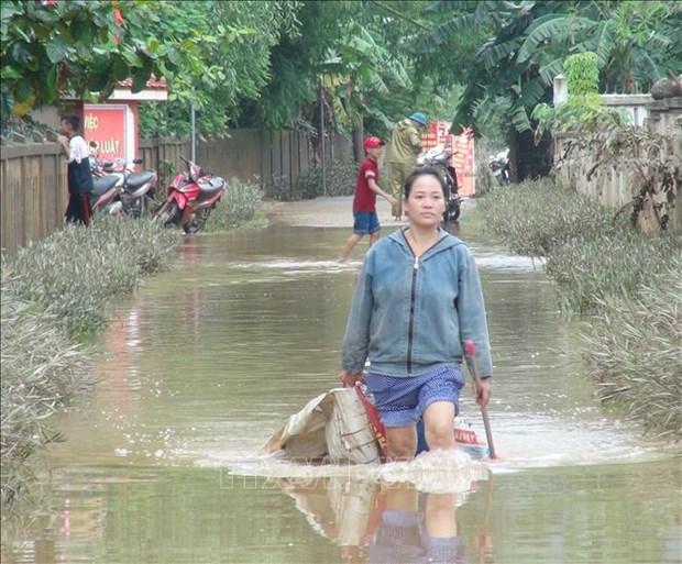 越南北部各省主动应对和克服暴雨洪涝灾害所造成严重后果 hinh anh 2