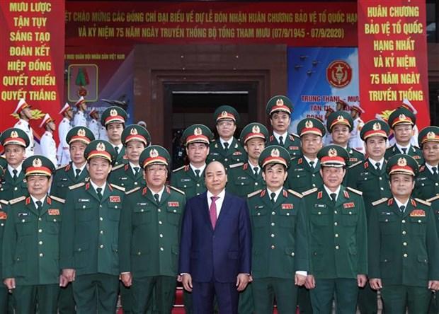 政府总理阮春福:努力推动越南军事艺术和科学发展到新水平 hinh anh 2