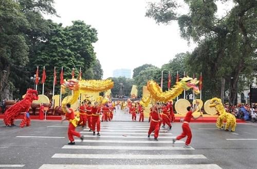 升龙-河内建都1010周年:河内市举行文化周 hinh anh 1