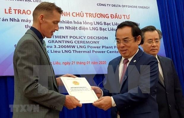 薄辽省引进FDI资金居于全国领先地位 hinh anh 1