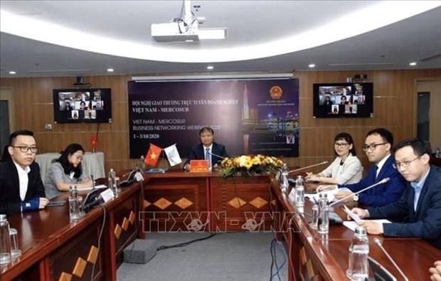 越南和阿尔及利亚在疫情中增加在线贸易促进活动 hinh anh 1
