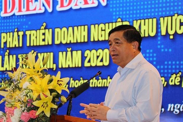北部企业合作—沟通与发展论坛在和平省举行 hinh anh 1