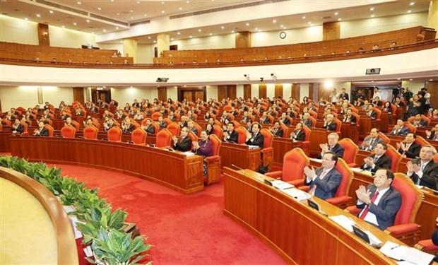 越共第十二届中央委员会第十三次全体会议在河内开幕 hinh anh 3