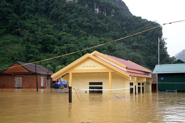 越南中部暴雨致多地受灾严重 已致5人死亡8人失联 hinh anh 1