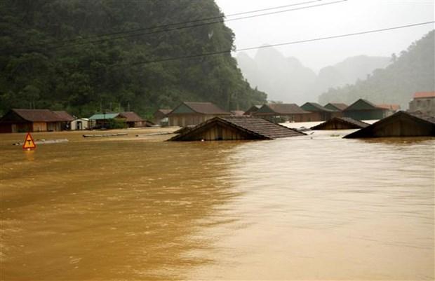 越南中部暴雨致多地受灾严重 已致5人死亡8人失联 hinh anh 2