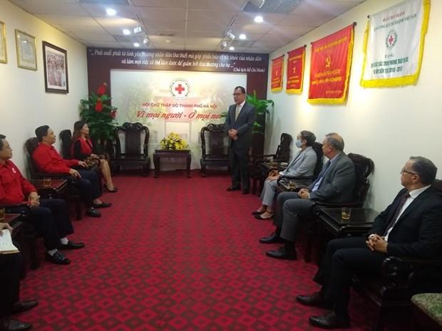 太平洋联盟驻越大使向越南中部地区受灾群众伸出援手 hinh anh 1