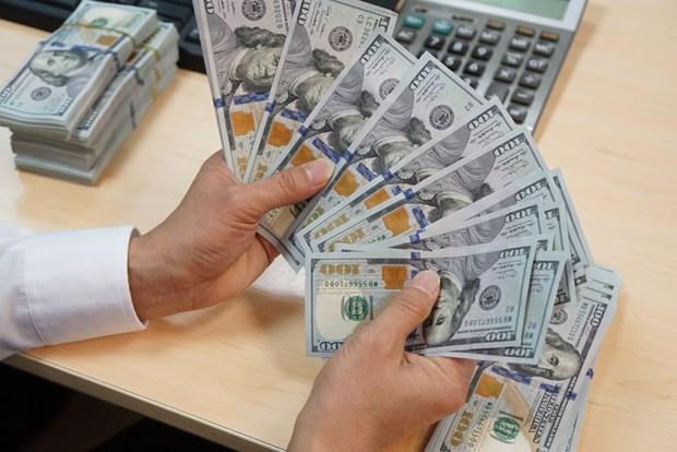 10月26日越盾对美元汇率中间价小幅波动 hinh anh 1