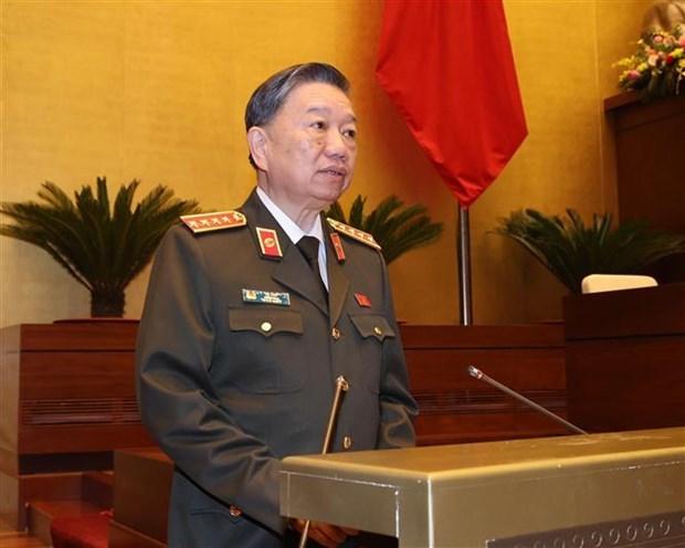 越南第十四届国会第十次会议就司法与反腐败工作进行讨论 hinh anh 1
