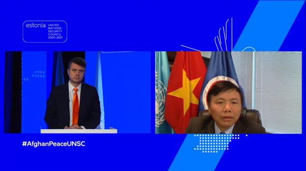 越南与联合国安理会:越南支持阿富汗人主导自己的和平进程 hinh anh 1