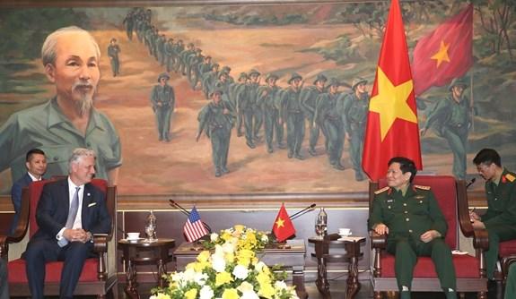 美国支持一个强大、独立、繁荣的越南 hinh anh 1