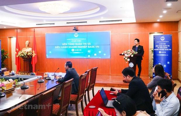 数字技术平台Base.vn助力企业开展全面治理 hinh anh 1