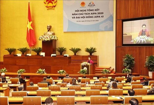 国会主席阮氏金银:越南国会为AIPA做出许多重要贡献 hinh anh 3