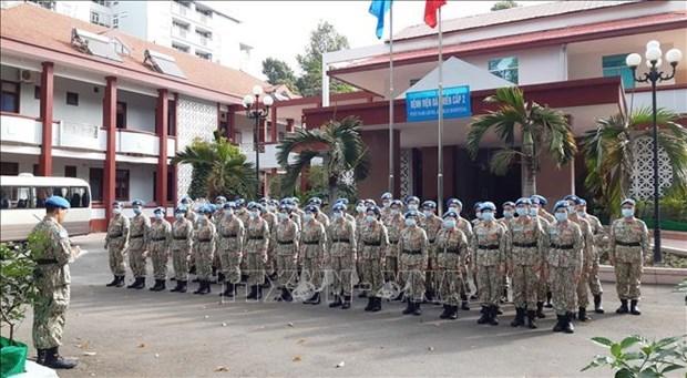 越南3号二级野战医院进入最后一次训练 hinh anh 1