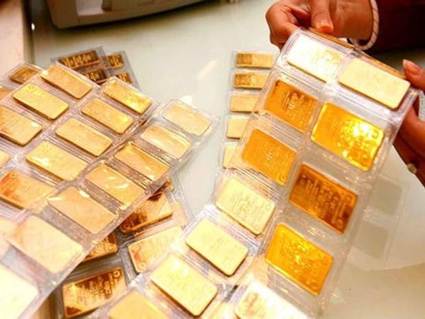24日越南国内市场黄金价格每两上涨15万越盾 hinh anh 1