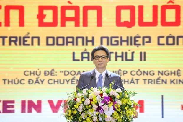 数字化企业率先推进越南数字化转型 hinh anh 1