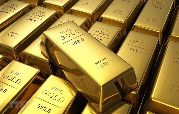 8日上午越南国内市场黄金价格继续下跌 hinh anh 1