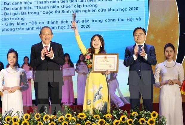 张和平副总理:凝聚大学生智慧和先锋力量 hinh anh 2