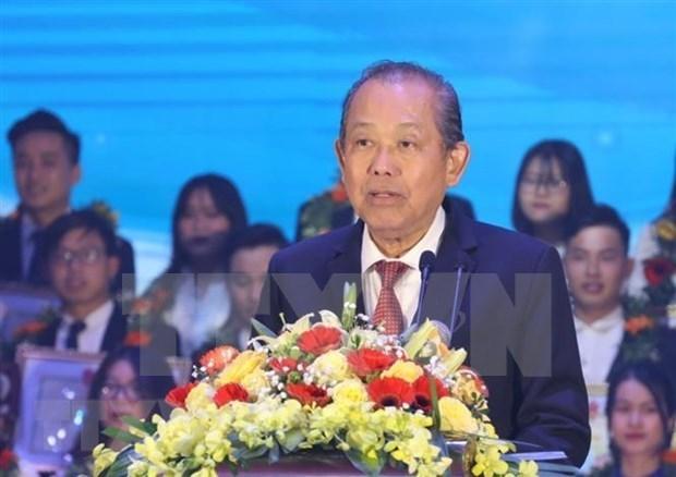 张和平副总理:凝聚大学生智慧和先锋力量 hinh anh 1