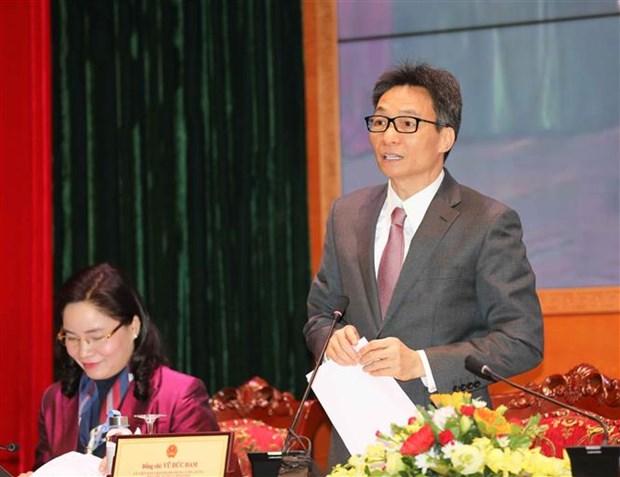 武德儋:越南民族美好的人文价值观在疫情中得到了充分展现和诠释 hinh anh 2