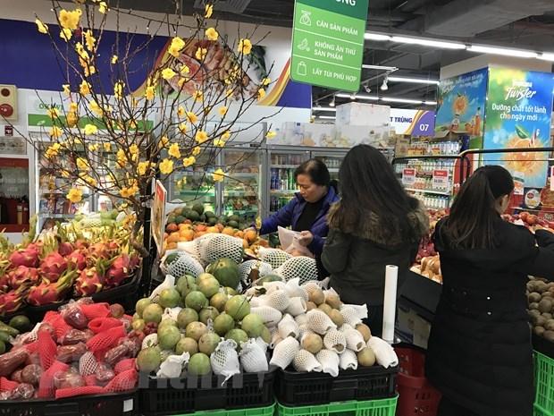 岘港市为消费者确保年货市场供应充足 hinh anh 1
