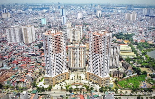2021年河内平均房价预计增长在4-6%之间 hinh anh 1