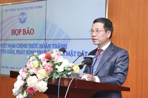 越南正式完成到2020年地面电视传输传播数字化提案 hinh anh 1
