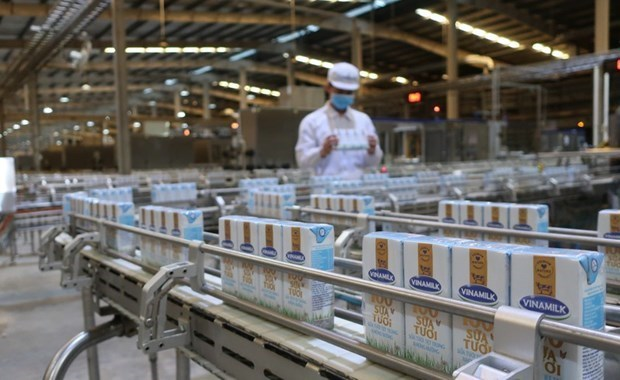 越南新增两家公司获授向中国出口乳制品的交易代码 hinh anh 1
