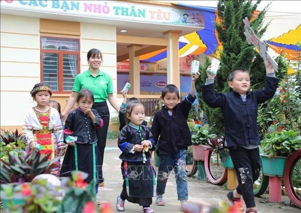 越南政府总理批准《2021 – 2030年国家儿童行动计划》 hinh anh 1