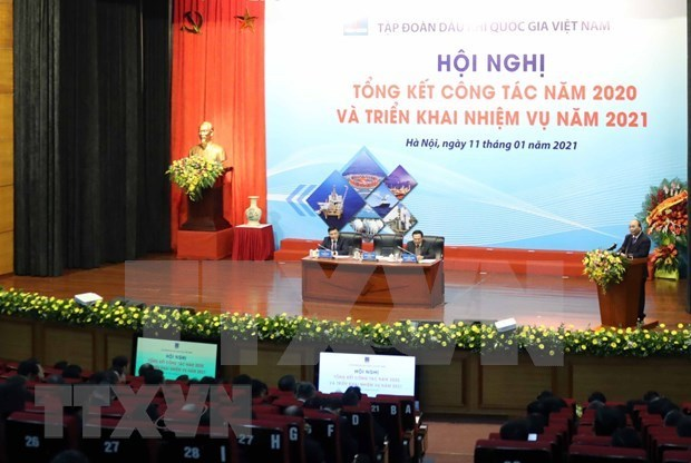 阮春福总理:越南国家油气集团应注重加强廉政党组织建设 hinh anh 2